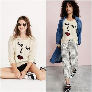 Madewell Making Faces Sweater